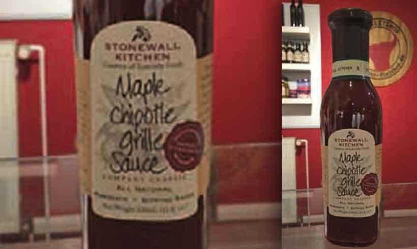 """""""Maple Chipotle Grill Sauce"""" von """"Stonewall Kitchen"""""""