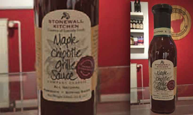 """Maple Chipotle Grill Sauce"" von ""Stonewall Kitchen"""