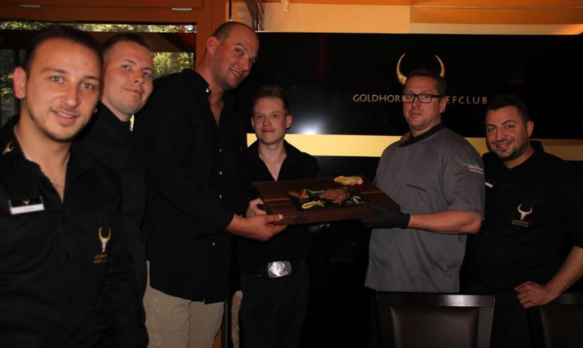 Tasting und Schulung für unser IBERICO 100% im Goldhorn- Beefclub in Berlin