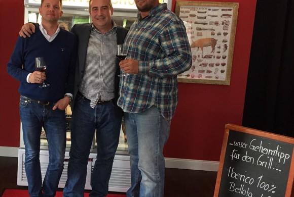 Besuch von unserem spanischen Lieferanten für IBERICO 100% de Bellota
