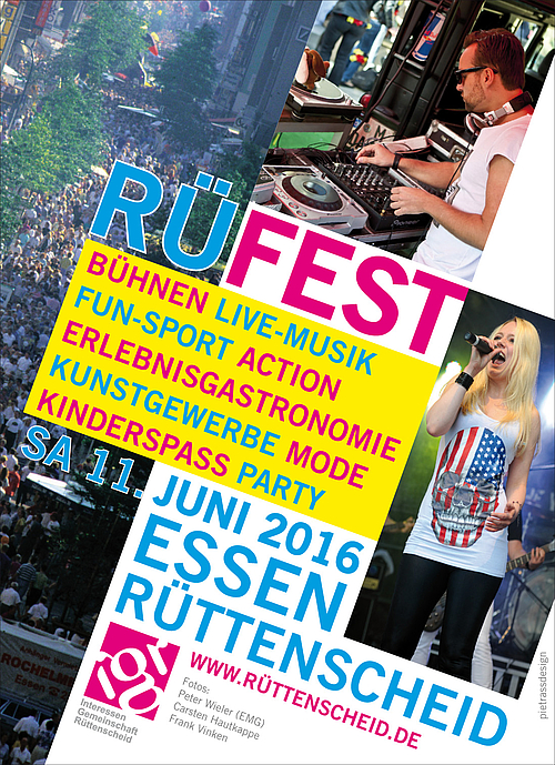 DER FILETSHOP auf dem RÜ-Fest